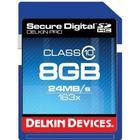 Delkin SD Pro HC Class 10 8GB (163x)