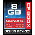 Delkin Compact Flash 8GB (500x)