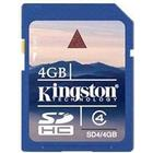 Kingston SDHC Class 4 4GB