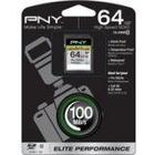 PNY SDXC Elite Performance UHS-I 64GB