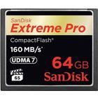SanDisk Extreme Pro Compact Flash 160MB/s 64GB