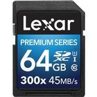 Lexar Media Platinum II SDHC UHS-I U1 45MB/s 64GB (300x)