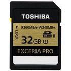 Toshiba Exceria Pro SDHC UHS-2 U1 260/240MB/s 32GB