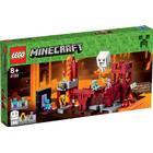 Lego Minecraft Fästningen i The Nether 21122