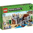 Lego Minecraft Ökenstationen 21121