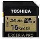 Toshiba Exceria Pro SDHC UHS-2 U3 260MB/s 16GB