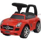 vidaXL Röd Mercedes Benz trampbil