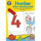 Orchard Toys Number Sticker Colouring Book (Multi-Colour)
