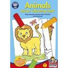 Orchard Toys Animals Sticker Colouring Book (Multi-Colour)