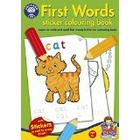 Orchard Toys First Words Sticker Colouring Book (Multi-Colour)