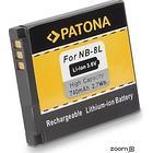 eQuipIT Batteri Canon NB-8L 740mAh 3.6V