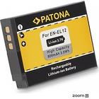 eQuipIT Batteri Nikon EN-EL12 800mAh 3.7V