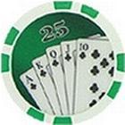 Royal Flush Grn 25 (25-pack)