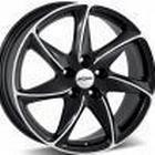 Ronal R51 Black Polished 7x16 5/108 ET45 B76