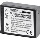 HAMA Kamerabatteri Panasonic CGA-S007 Li-Ion 3,7V/800mAh