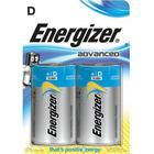ENERGIZER Batteri D/LR20 Eco Advanced 2-pack