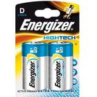 ENERGIZER Batteri D/LR20 High Tech 2-pack