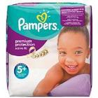 Pampers Premium Protection Active Fit Nappies Monthly Saving Pack - Size 5+, Pack of 124