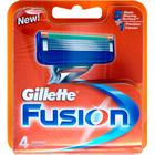 Gillette Fusion Men's Razor Blades, 4 Pack