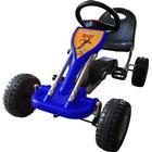 vidaXL Trampbil för barn fr. 3 år blå