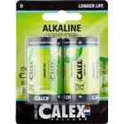 Calex Batteri Calex D LR20 2-pack
