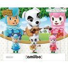 Amiibo - Animal Crossing 3-Pack K.K Slider, Reese & Cyrus