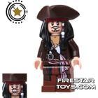 FireStar Toys LEGO Pirates Of The Caribbean Mini Figure - Captain Jack Sparrow - Tricorne