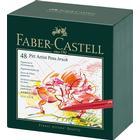 Pitt Artist pen 48 set fiberpenna Faber-Castell