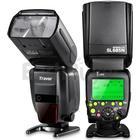 fitTek® Travor Professional i-TTL Master/Slave *High Speed Sync* Fast Recycle Time Speedlite Flash Full Kit for Nikon D80  D90  D800  D700  D7100  D7000  D5200  D5100  D5000  D300  D300S  D3200  D3100  D3000  D200  D70S Digital SLR Cameras and Other Nik
