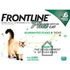 Frontline Plus Flea & Tick Spot On Cat 0.5ml x 6 Pipettes NFA-C