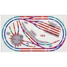 Hornby Digital Train Set Hl6 Layout Compact Oval - Two Trains Included