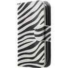 MTP Products Alcatel Pop C1 Stilfuld Pung Taske - Zebra