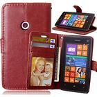 Mini in the Box For Nokia Case Wallet / Card Holder / with Stand Case Full Body Case Solid Color Hard PU Leather NokiaNokia Lumia 930 / Nokia Lumia 830 /