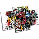 Grafitti Art Illustration - 13-0269(00B)-Mp17-Lo - 70x45cm
