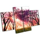 Cherry Blossom Landscapes - 13-0436(00B)-Mp17-Lo - 140x90cm