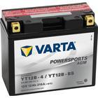 Varta MC Batterier MC-batteri 12 Ah YT12B-4/YT12B-BS Varta AGM