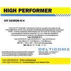 High Performer ATF Dexron III H 60 Liter Fad