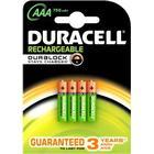 Duracell Laddbart, AAA HRO3 750 mAh, 4/fp