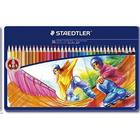 Staedtler Noris Club Crayons In Metal Box