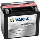 Varta Motorcykelbatteri AGM Powersports YTX12-4/YTX12-BS