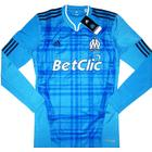 2010-11 Olympique Marseille TechFit Player Issue Away L/S Shirt *BNIB*