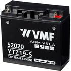 VMF Powersport AGM Batteri 12 V 20 Ah FA YTZ19-S