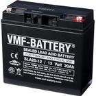 VMF AGM Batteri Standby och cyklisk 12 V 20 Ah SLA20-12