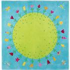 Haba Planet med Blommor Matta 002973