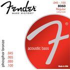 Fender 8060 Phosphor Bronze string set regular