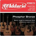 Daddario EPBB170 string set for acoustic bass guitar