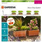 Gardena Micro Drip System Expansion Set 4 Planters