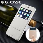 G-Case i læder med vindue iPhone 6 & 6S