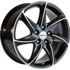 Ronal R51 Black / Polished 16x7,0 5/112 ET45 N76,0