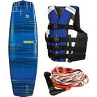 Obrien Wakeboardpaket Pro: Obrien Valhalla Wakeboard + Plan B Wakeboardbindning + 4-Buckle Sport Flytväst